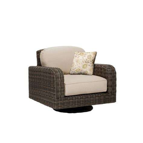 c motion patio chair hton bay brown all weather wicker patio
