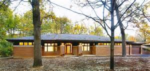 Modern Frank Lloyd Wright Style Homes Residential Gallery Prairiearchitect