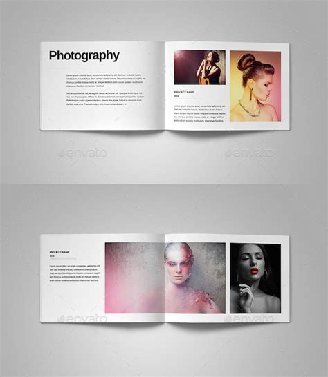 photography portfolio templates 25 awesome portfolio book templates pixel curse