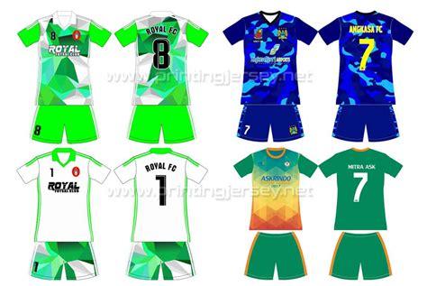cara desain baju futsal online bikin baju jersey futsal printing desain custom printing