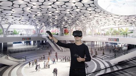 designboom virtual reality virtual reality offers mecanoo a new way of designing