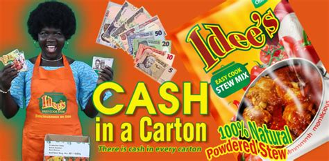 Win Instant Cash Now - try idee s easy cook stew mix now win instant cash prizes bellanaija