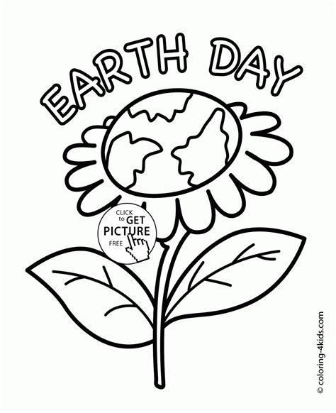 earth day coloring pages for adults earth flower earth day coloring page for kids coloring