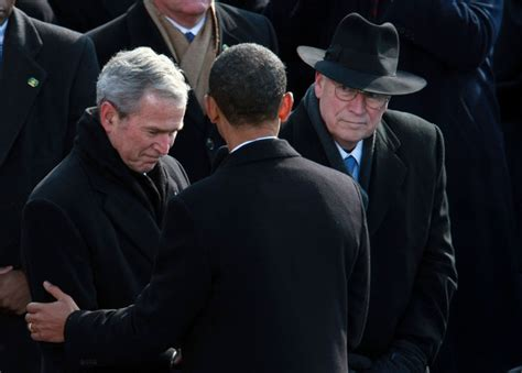 bush and cheney how they america and the world books cheney in barack obama is sworn in as 44th president