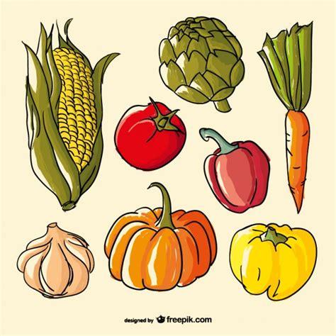 imagenes de flores dibujadas a mano verduras de colores dibujadas a mano imagenes infantiles