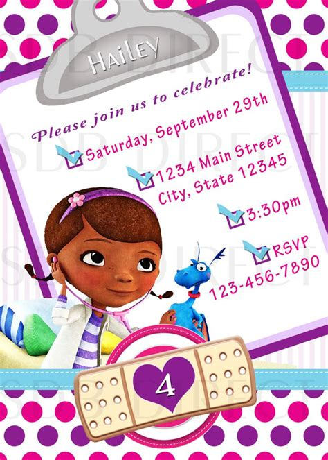 doc mcstuffins invitation template doc mcstuffins digital birthday invitations 9