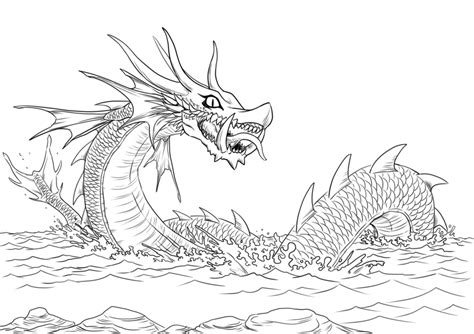 sea dragons coloring pages sea dragon coloring page www pixshark com images