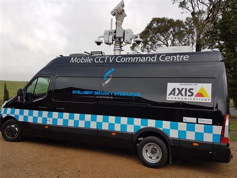 mobile cctv intelligent security australia mobile cctv command centre