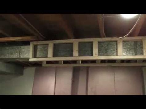 soundproof furnace closet how to frame ductwork in your basement