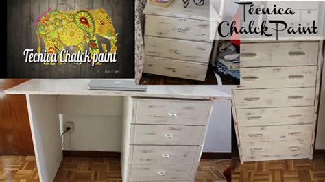 chalk paint sobre mueble lacado tutorial diy c 243 mo realizar la t 233 cnica chalk paint