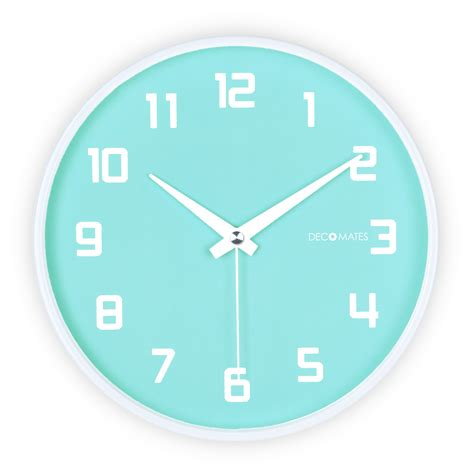 quiet wall clock cursosfpo info fruity blueberry silent wall clock decomates