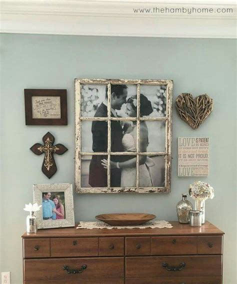 thrifty decorating turn an old window into a pot rack 17 best ideas about window photo frame on pinterest