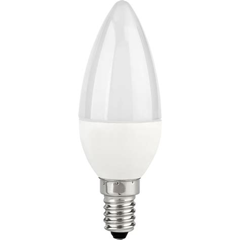 Wilko Led Bulb Candle Opal Ses Daylight 6w 1pk At Wilko Com Candle Led Light Bulbs