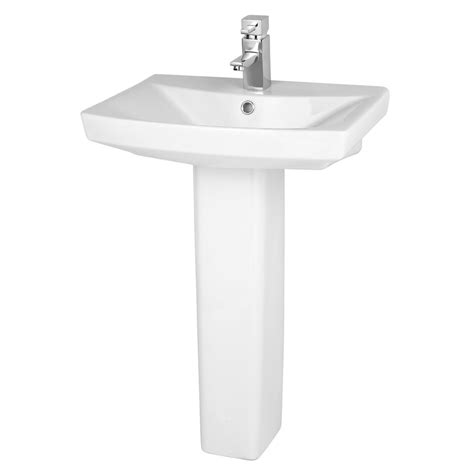 premier hamilton 1th basin with pedestal 3 x size