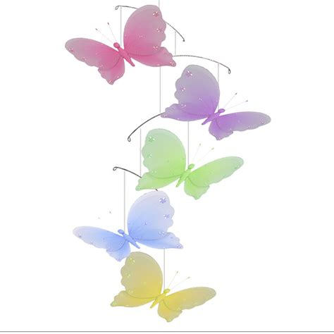 butterfly home decor butterfly mobile nursery ceiling hanging butterflies