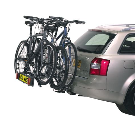 Car Back Rack by Thule 9403 3 Bike Tow Bar Carrier Car Rear Rack Bicycle