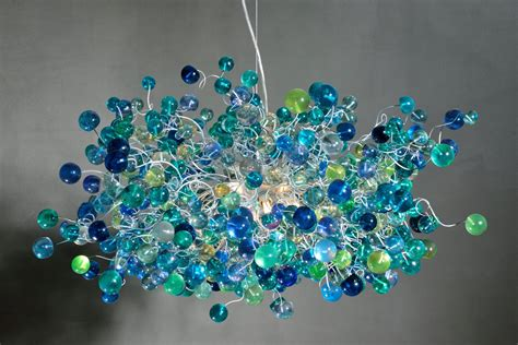 Handmade Chandeliers - 19 colorful handmade chandelier designs 17
