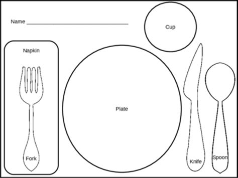 placemat template printable printable placemat template pictures to pin on