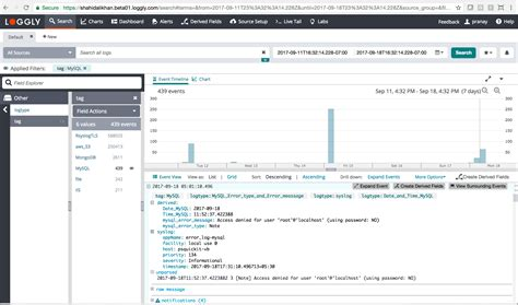 mysql log date format automated parsing log types loggly