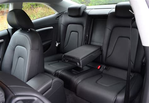 Audi A5 Backseat by 2013 Audi A5 2 0t Quattro Review Test Drive