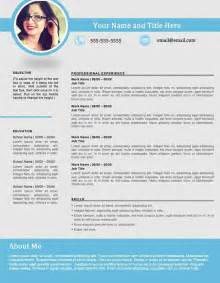 Best Resume Design by Shapely Blue Resume Template Edit Easily In Word Https