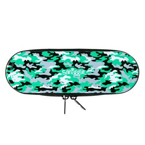 Smiggle Chaos Pencil Tin zip tin pencil from smiggle camo wrap it up theme packages army shops
