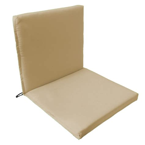 Patio Chair Seat Pads Back Seat Outdoor Waterproof Chair Pad Cushion Garden Patio Furniture W Ties Ebay