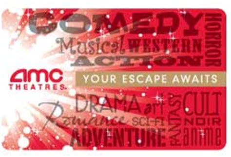 Amc Theater Gift Cards Accepted At - amc theater 25 gift card