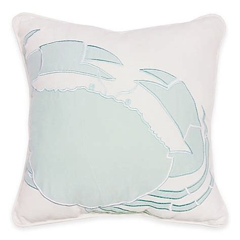 blue throw pillows for bed buy sandbridge beach house square throw pillow in blue