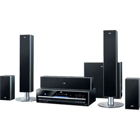 jvc th d60 home theater system thd60 b h photo