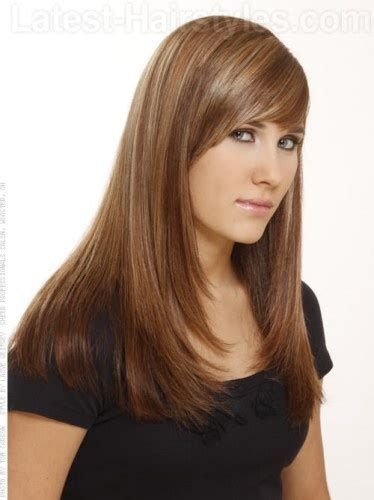 long layered side part hairstyles haircuts in layers for girls ideas girls haircuts side