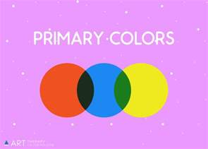 primary colors color theory for coloring therapy coloring