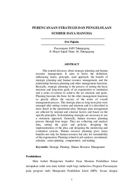 cara membuat jurnal msdm contoh review jurnal internasional doc contoh waouw