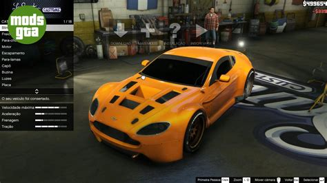 carros aston martin mod do carro aston martin vantage gt3 para gta 5 de pc