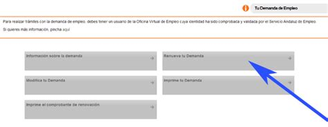 sae oficina virtual de empleo renovar demanda como renovar tu tarjeta de empleo en el sae por internet