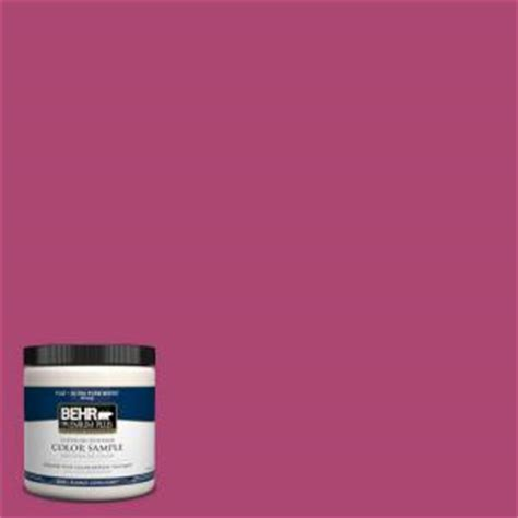 behr premium plus 8 oz 100b 7 pink interior exterior paint sle 100b 7pp the home depot