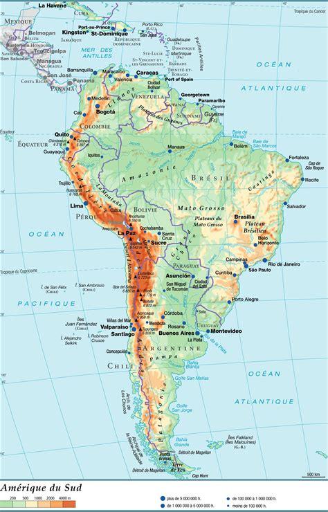 Geos Mere Et Moi Blue Map carte de l am 233 rique du sud