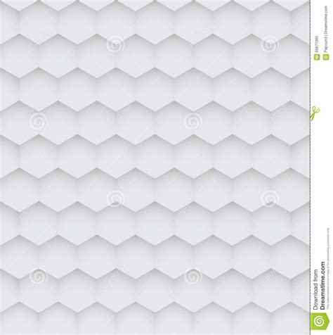 white hexagon pattern abstract white hexagon seamless pattern stock vector