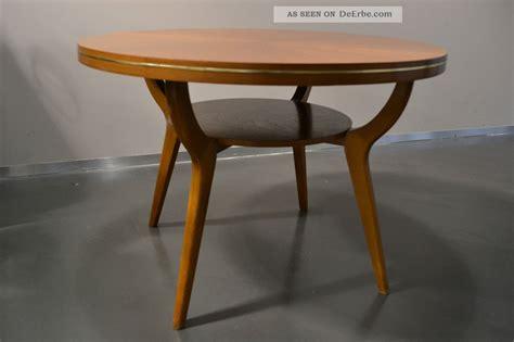 Steiff Decke Koralle by Coffeetable Tisch Couchtisch Ilse M 246 Bel 50er 60er Buche