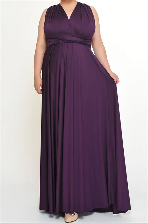 infinity size maxi eggplant convertible infinity dresses from to 5xl