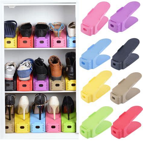 space saving shoe storage 1 pc display rack shoes organizer space saving plastic
