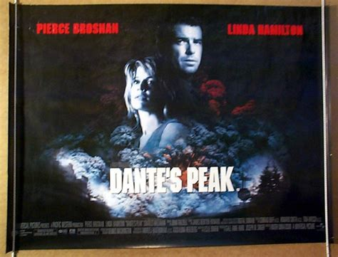 Dante S Peak Original dante s peak original cinema poster from