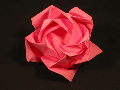 Origami Roses - zing origami objects and things