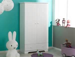 armoire chambre enfant blanche oslo