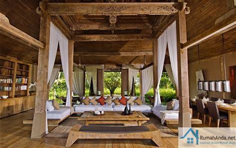 Kayu Jawa desain interior rumah kayu jawa elegan rumah jawa