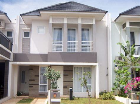 fasad rumah minimalis  lantai bertingkat fasad rumah