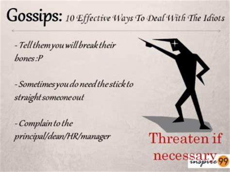 prevent office gossip gossips 10 effective ways to tackle the idiots inspire 99