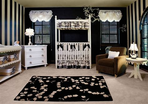 20 Cheerful And Versatile Ways To Use Black In The Nursery Black And White Nursery Decor