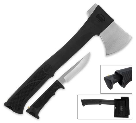 kitchen axe knife united cutlery axe with knife the green