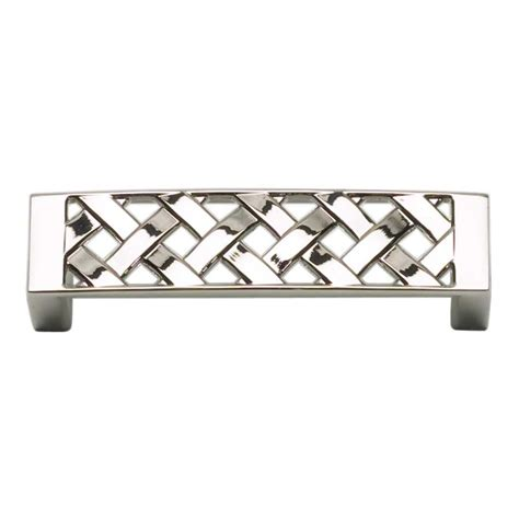 Atlas Cabinet Hardware by Atlas Homewares Lattice 3 Inch Center To Center Polished